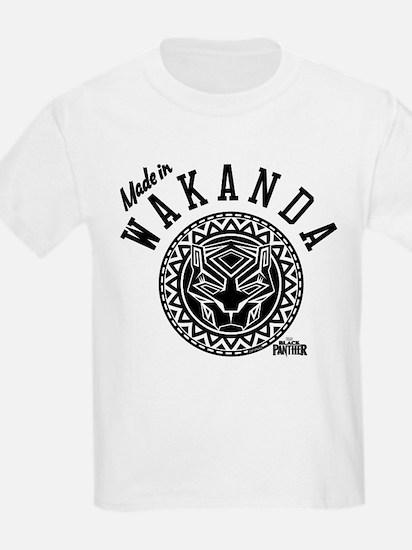 Black Panther Made Circle T-Shirt