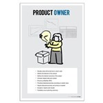 Female Scrum Product Owner Large Posters