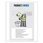 Female Scrum Product Owner Small Posters