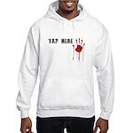 Tap Here MMA Hooded Sweatshirt