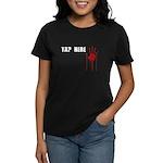 Tap Here MMA Women's Dark T-Shirt