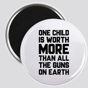 One Child Is Worth More Magnet