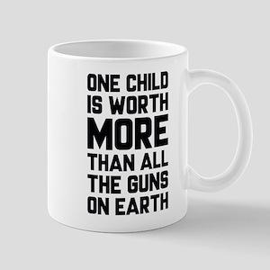 One Child Is Worth More Mug