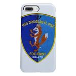 USS DOUGLAS H. FOX iPhone 8/7 Plus Tough Case