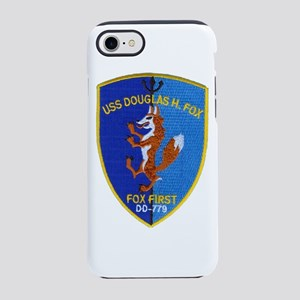 USS DOUGLAS H. FOX iPhone 8/7 Tough Case