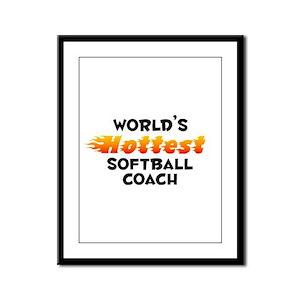 World's Hottest Softb.. (B) Framed Panel Print