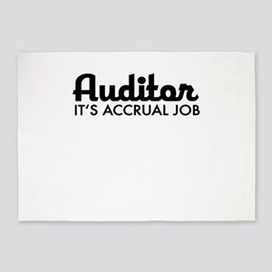 auditor 5'x7'Area Rug
