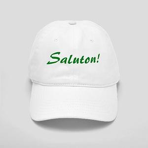 Saluton/Hello Cap