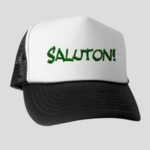Saluton/Hello Trucker Hat