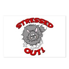 Stressed Out Cat Postcards (Package of 8)