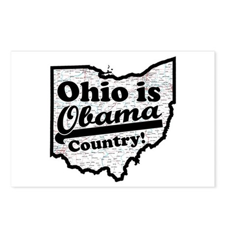 Ohio Is Obama Country Postcards (Package of 8)