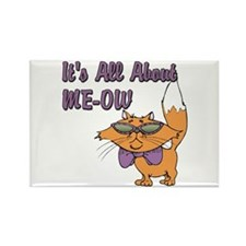 It's All About Me Cat Rectangle Magnet