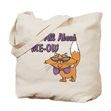 It's All About Me Cat Tote Bag