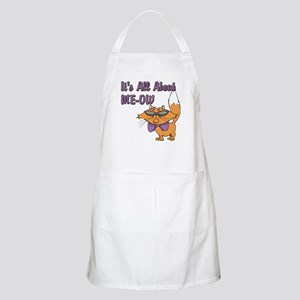 It's All About Me Cat BBQ Apron