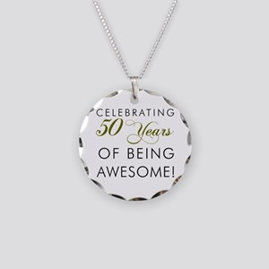 Celebrating 50 Years Pint Glass Necklace