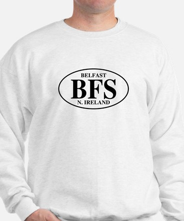 Belfast, Northern Ireland Sweatshirt