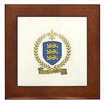 LAPOINTE Family Crest Framed Tile