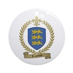 LAPOINTE Family Crest Ornament (Round)