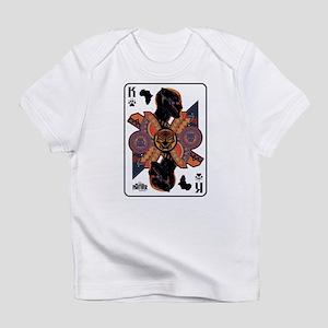 black panther king Infant T-Shirt