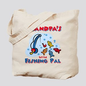 Grandpa's Fishing Pal Tote Bag