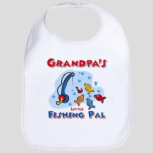 Grandpa's Fishing Pal Bib