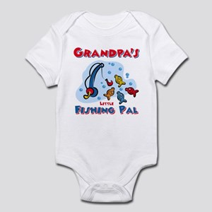 Grandpa's Fishing Pal Infant Bodysuit