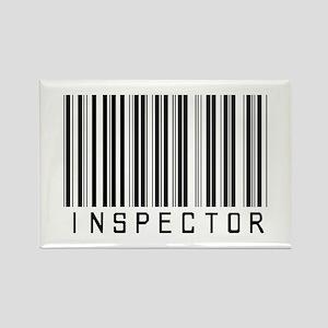 Inspector Barcode Rectangle Magnet