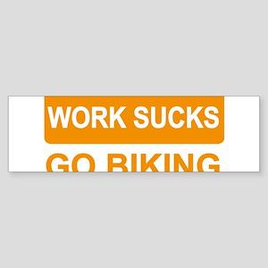 biking Bumper Sticker