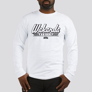 Black Panther Wakanda Africa Long Sleeve T-Shirt