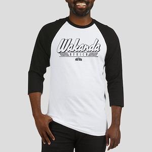 Black Panther Wakanda Africa Baseball Tee