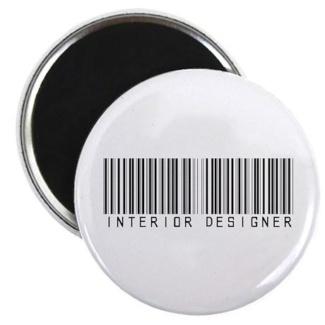 Interior Designer Barcode Magnet
