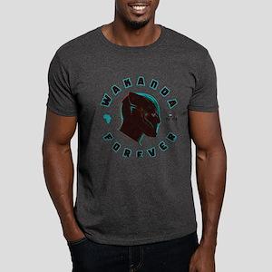 Black Panther Wakanda Forever Dark T-Shirt