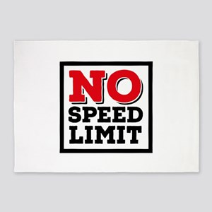 no speed limit 5'x7'Area Rug