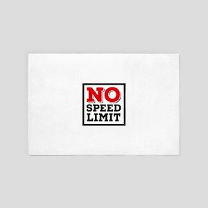 no speed limit 4' x 6' Rug