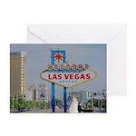 Bride/Groom Wedding in Vegas Cards 10