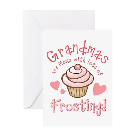 Grandmas Frosting Greeting Card