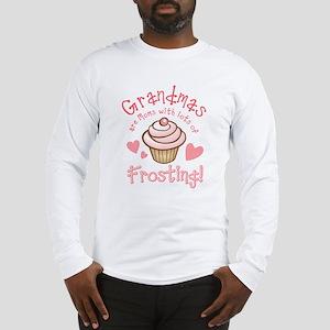Grandmas Frosting Long Sleeve T-Shirt