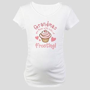 Grandmas Frosting Maternity T-Shirt