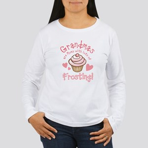 Grandmas Frosting Women's Long Sleeve T-Shirt