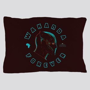 Black Panther Wakanda Forever Pillow Case