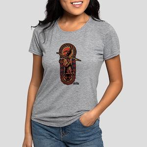 Black Panther Nakia Okoye Womens Tri-blend T-Shirt
