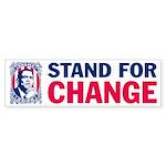 Stand for CHANGE- Barack OBAMA Sticker