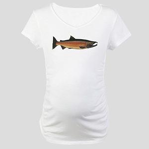 Coho Salmon Maternity T-Shirt