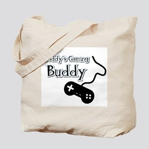 Daddy's Gaming Buddy Tote Bag