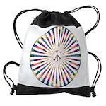 Hypnotic Peace Delight Drawstring Bag