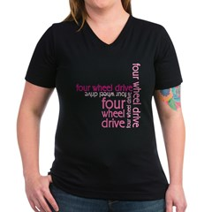 Pink Four Wheel Drive Girl Shirt