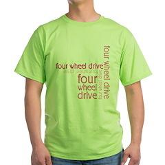 Pink Four Wheel Drive Girl T-Shirt