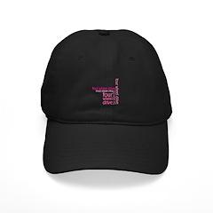 Pink Four Wheel Drive Girl Baseball Hat