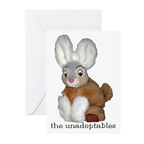 Unadoptables 9 Greeting Cards (Pk of 10)