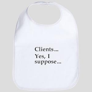 """""""Clients ..."""" Bib"""